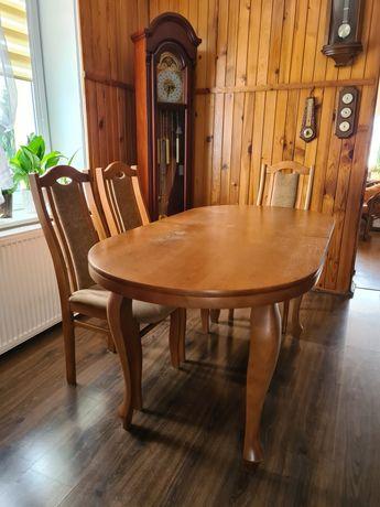 Komplet stół - 6 krzeseł