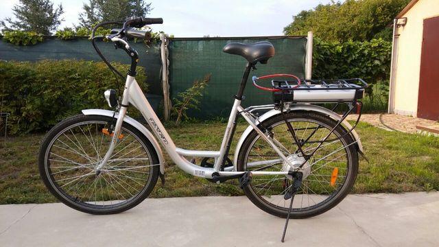 Городской электровелосипед, велосипед