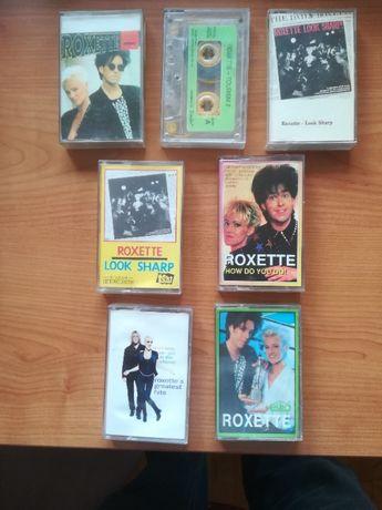 kasety magnetofonowe Roxette komplet 8 kaset
