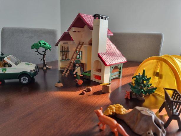Playmobil domek leśniczego