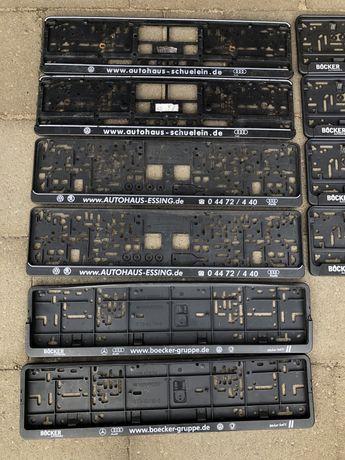 Ramki pod rejestracje tablice rejestracyjną Niemieckie Volkswagen