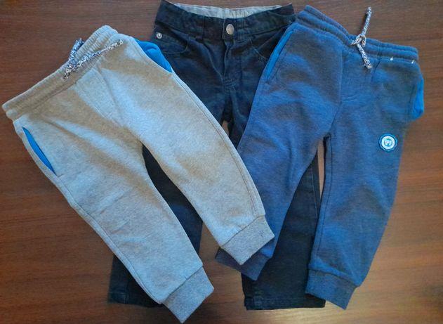 Spodnie chłopięce 92-98