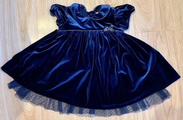 Нарядное платье на  годик Next
