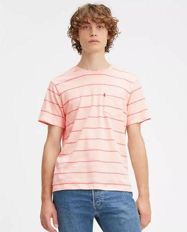 Levi`s футболка, новая, розовая, размер S