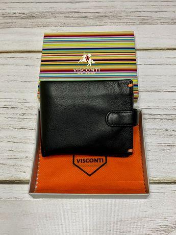 Продам мужской кошелек VISCONTI ( Англия). Кожа. Новый