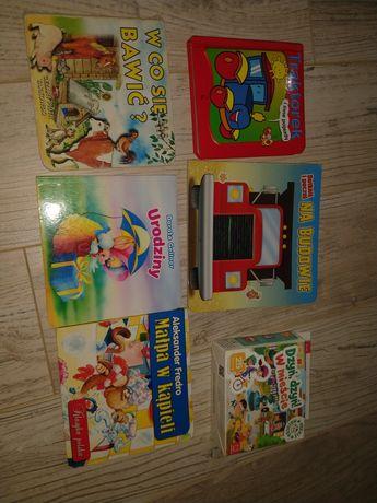 Puzzle oraz zestaw książeczek