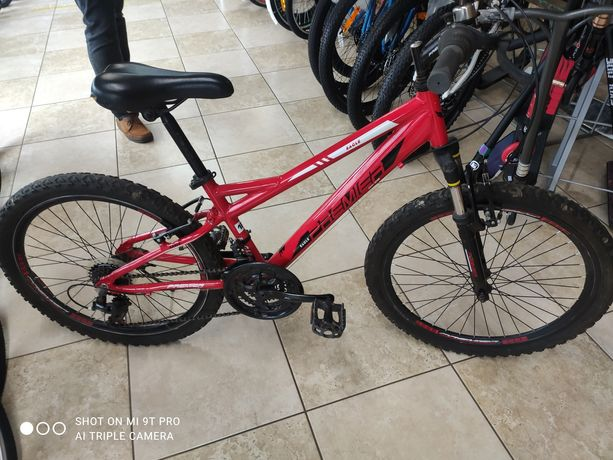 Продам алюминиевый подростковый велосипед колеса 24