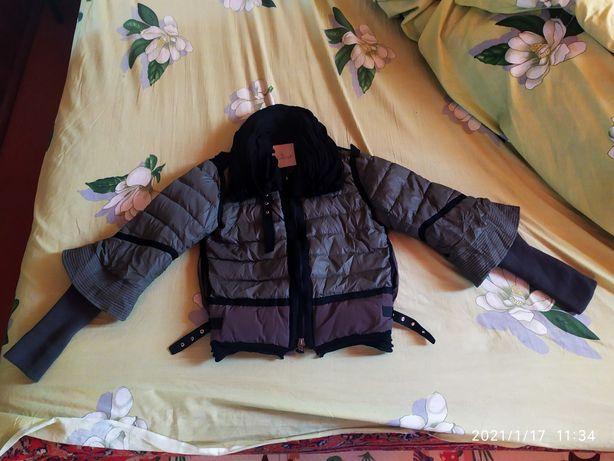 Куртка moncler короткая демисезонная