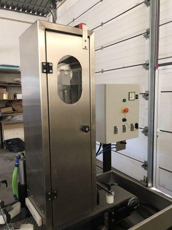 Máquina escovar inox planos