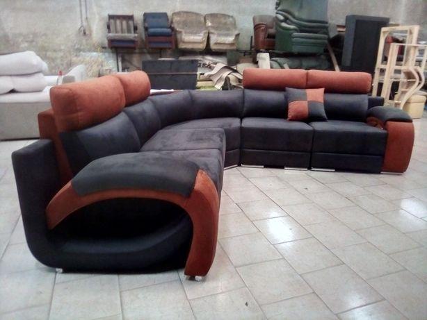 Sofá de canto / sofá canto Douro/sofá nilo