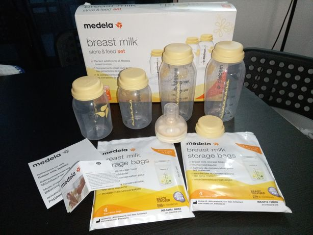 Kit Medela Store and feed