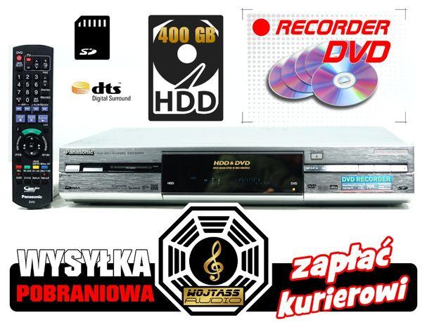 Nagrywarka Panasonic DMR-E500H * Dysk HDD 400GB * DVD -R Recorder