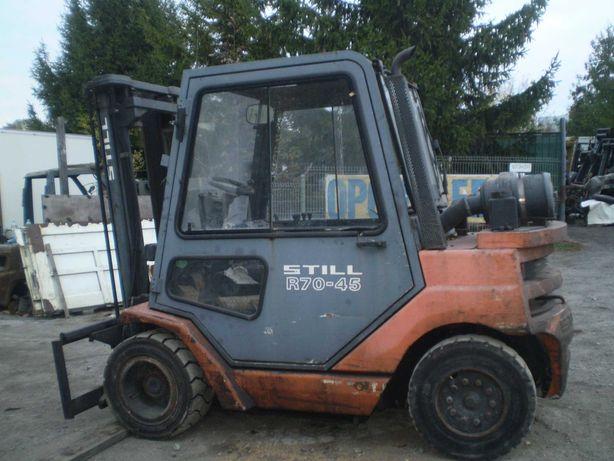 wózek widłowy Syill R 70-45 części kabina