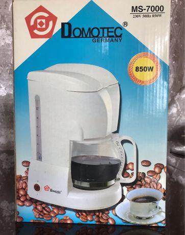 Кофеварка Domotec MS-7000, НОВАЯ