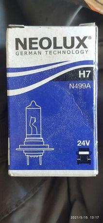 Галогенновая автолампа Neolux H7 24V 55W (N499А)