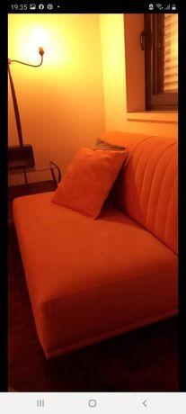 Sofá tecido como novo