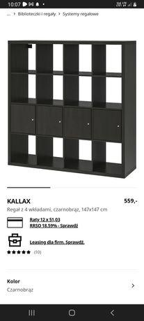 Regał Kallax IKEA 7 wkładów