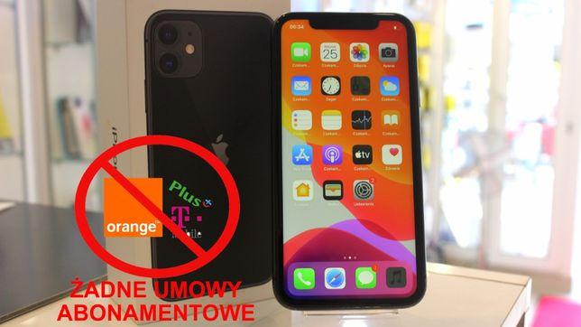 JAK NOWY Apple iPhone 11 64GB / GWARANCJA / Al.Niepodległości 1
