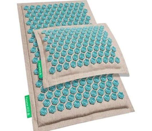 АКЦИЯ! Pranamat Eco массажный комплект ( коврик + подушка) Пранамат