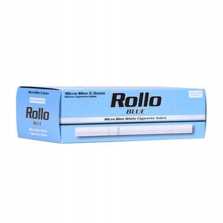 GILZY papierosowe ROLLO BLUE 200 MICRO SLIM 5,5 mm