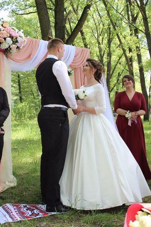 Безумно красивое свадебное платье