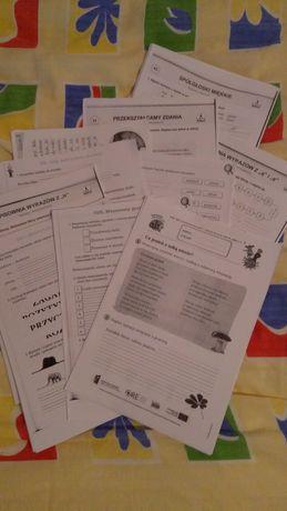 Klasa 3 karty pracy ćwiczenia ortografia gramatyka dysleksja