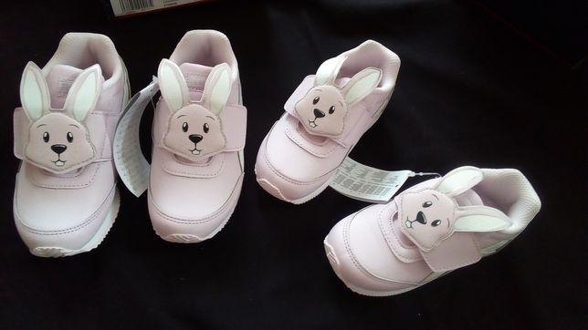 Buty reebok króliczek 26 nowe wkladka  17,5 cm