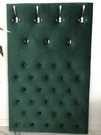 Stylowy Wieszak, panel tapicerowany garderoba