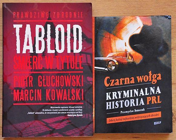 Czarna Wołga plus Tabloid Śmierć w tytule komplet ZBRODNIE