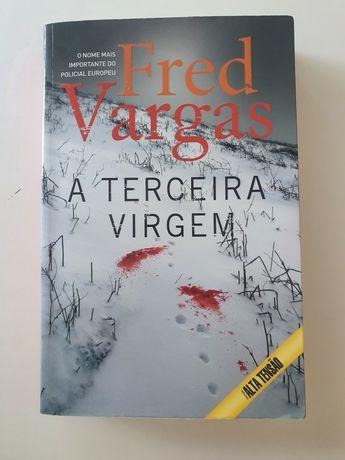"""Livro policial """"A terceira virgem"""" de Fred Vargas"""