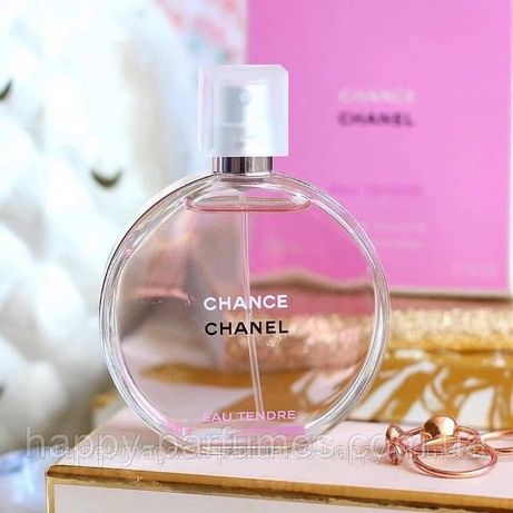 Духи Chanel Chance Tendre Шанель Шанс Тендр Женский Парфюм 1+1=4