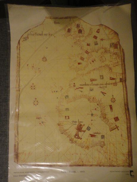 """Cartografria """"Portugaliae Monumenta Cartographica INCM"""" Pedro Reinel"""