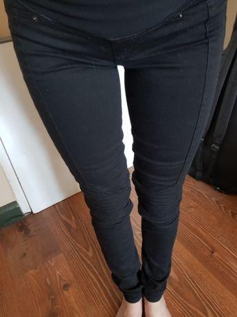 Spodnie ciazowe h&m mama skinny r 34 xs