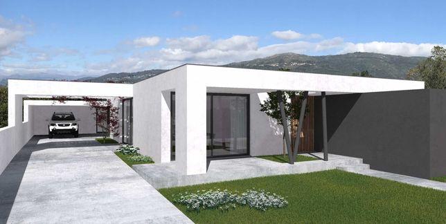 A Moradia é T3, de excelente construção e com piscina!