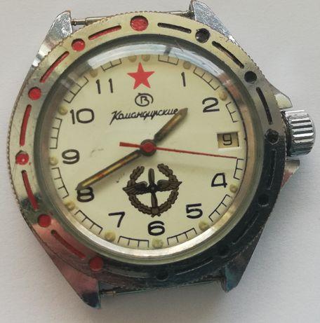 Командирские Мужские наручные часы завода Восток СССР