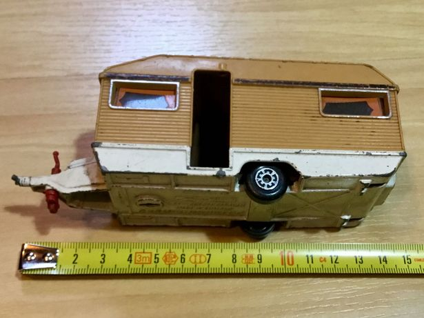 Miniatura antiga Matchbox Superkings Europa Caravan