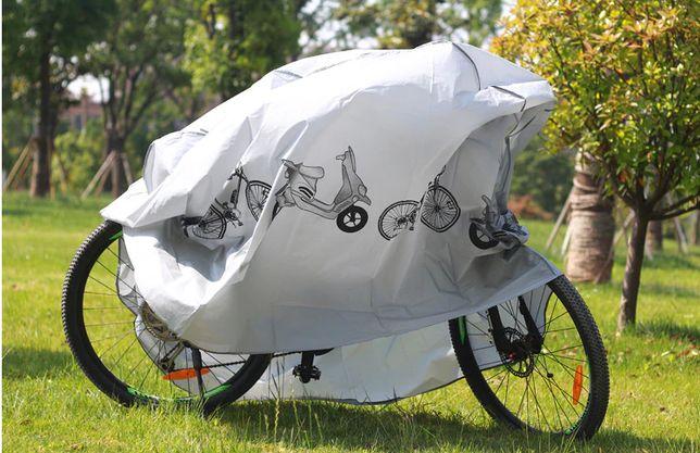 Pokrowiec na rower motocykl wodoodporny wzmocniony