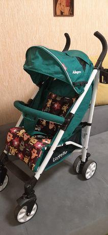 Коляска прогулочная CARRELLO Allegro CRL-10101/1 Monster Green в льне