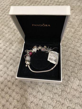 Оригинальная Pandora Пандора, комплект (серебро, золото)