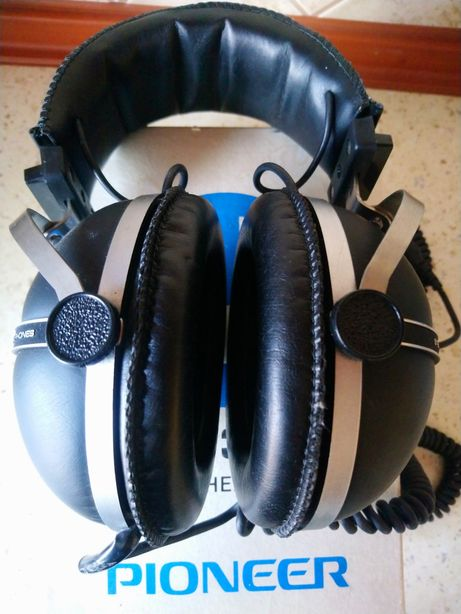 Audiofilskie słuchawki nauszne Pioneer SE-305 jak nowe VINTAGE