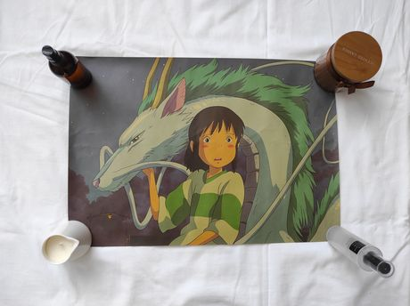 plakat spirited away studio ghibli