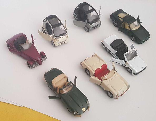 Carrinhos de miniatura marcas Maisto, Welly e outras