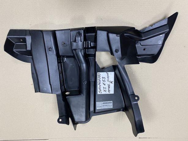 BMW X5 E53 захист колісноі ніші 51718408960 бмв х5 е53 защита нова