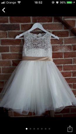 Piękna sukienka wesele druhna