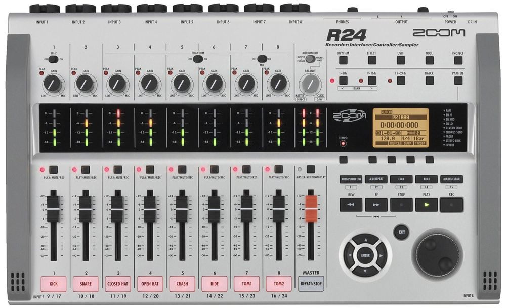 Zoom R 24 Rejestrator SD Mixer Interface Audio drumachine Katowice - image 1