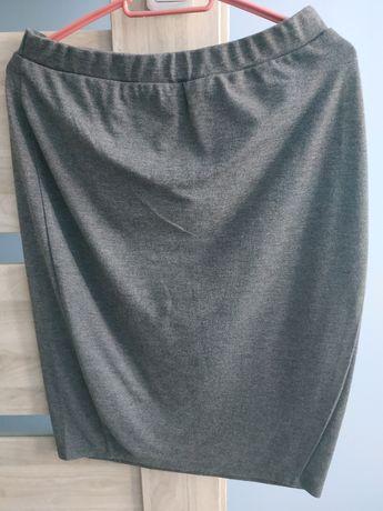 Spódnica spódniczka szara