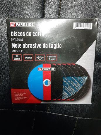 6x discos de corte - rebarbadora - Parkside