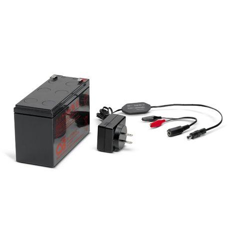 Для эхолота ! Аккумулятор 7-12-18Ah + Зарядное устройство 12В 1А