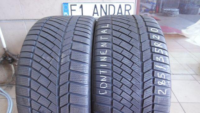 2x 285/35R20 Continental ContiWinterContact TS830P , Zimowe , B.Ładne