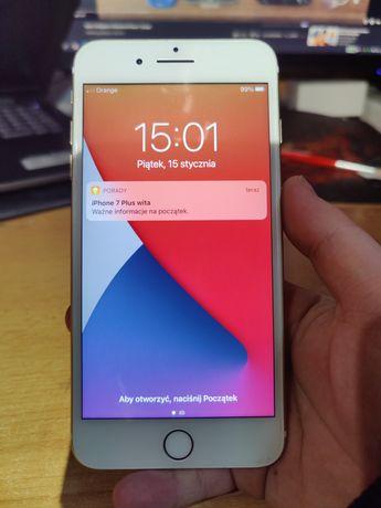 iPhone 7 plus Gold 3/32 100% bateria.